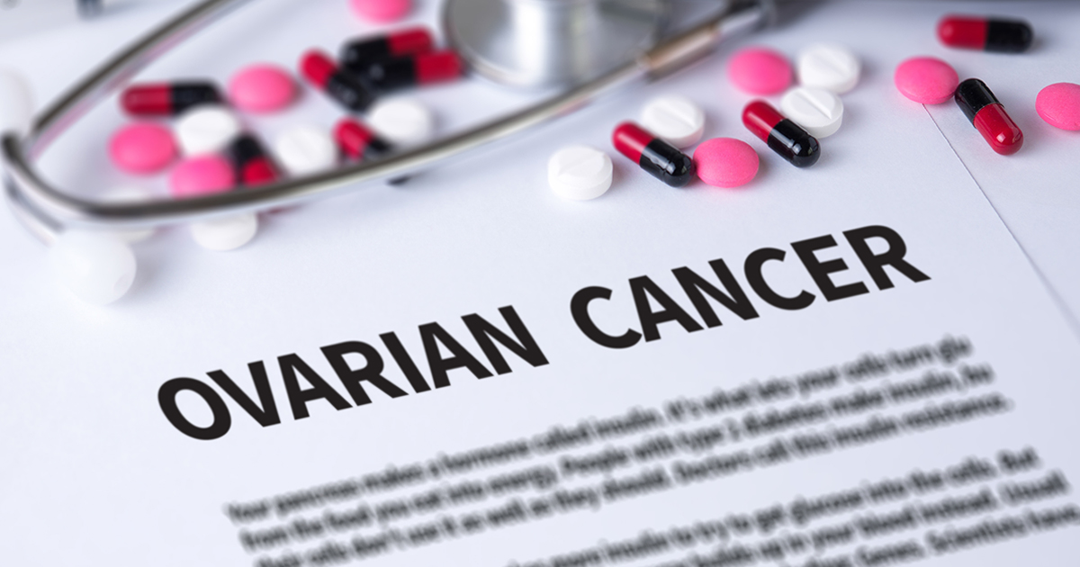 Ovarian cancer symtoms treatment prevention tips women